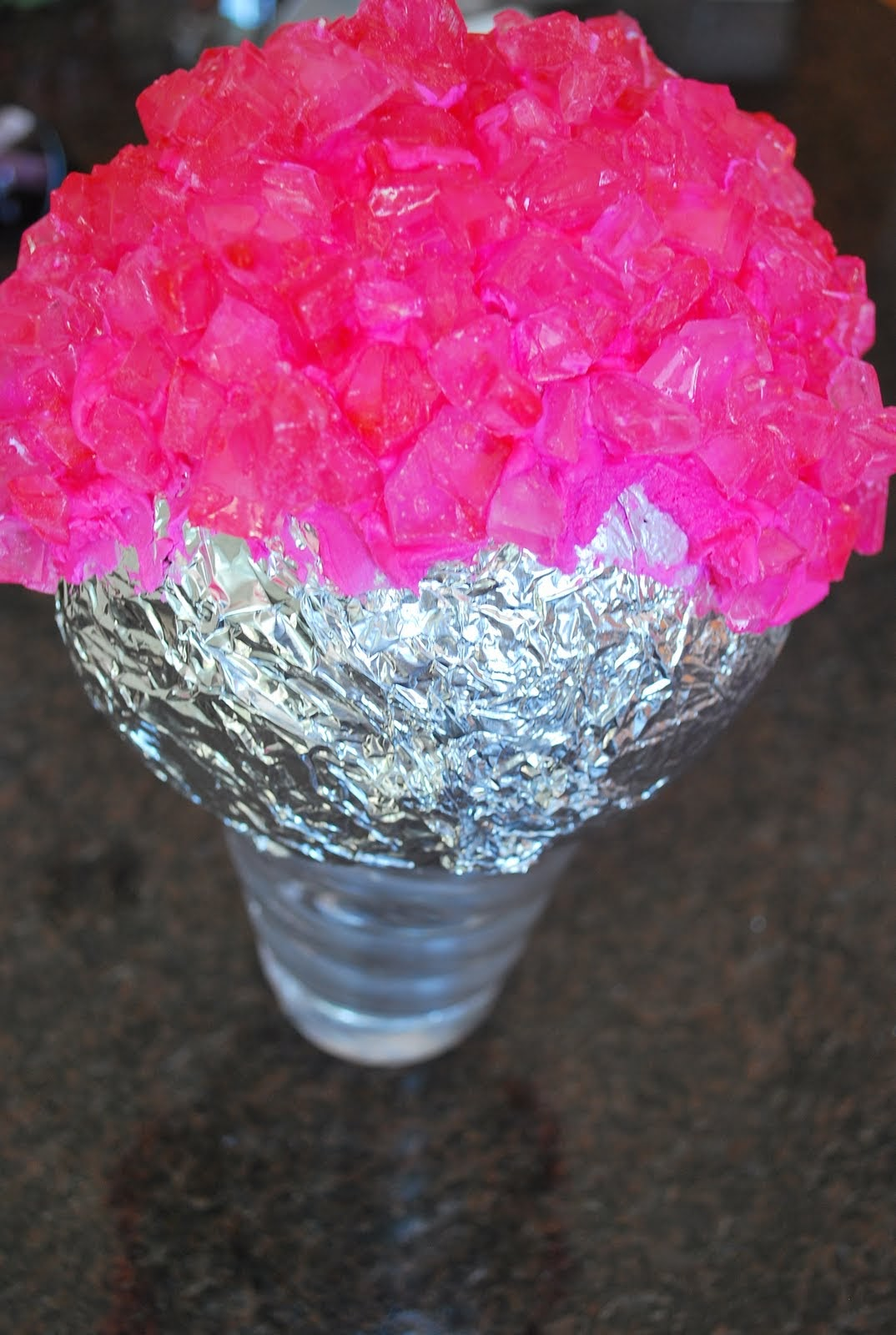 DIY: How to create Rock Candy Topiary Balls – Unique invitations by ...